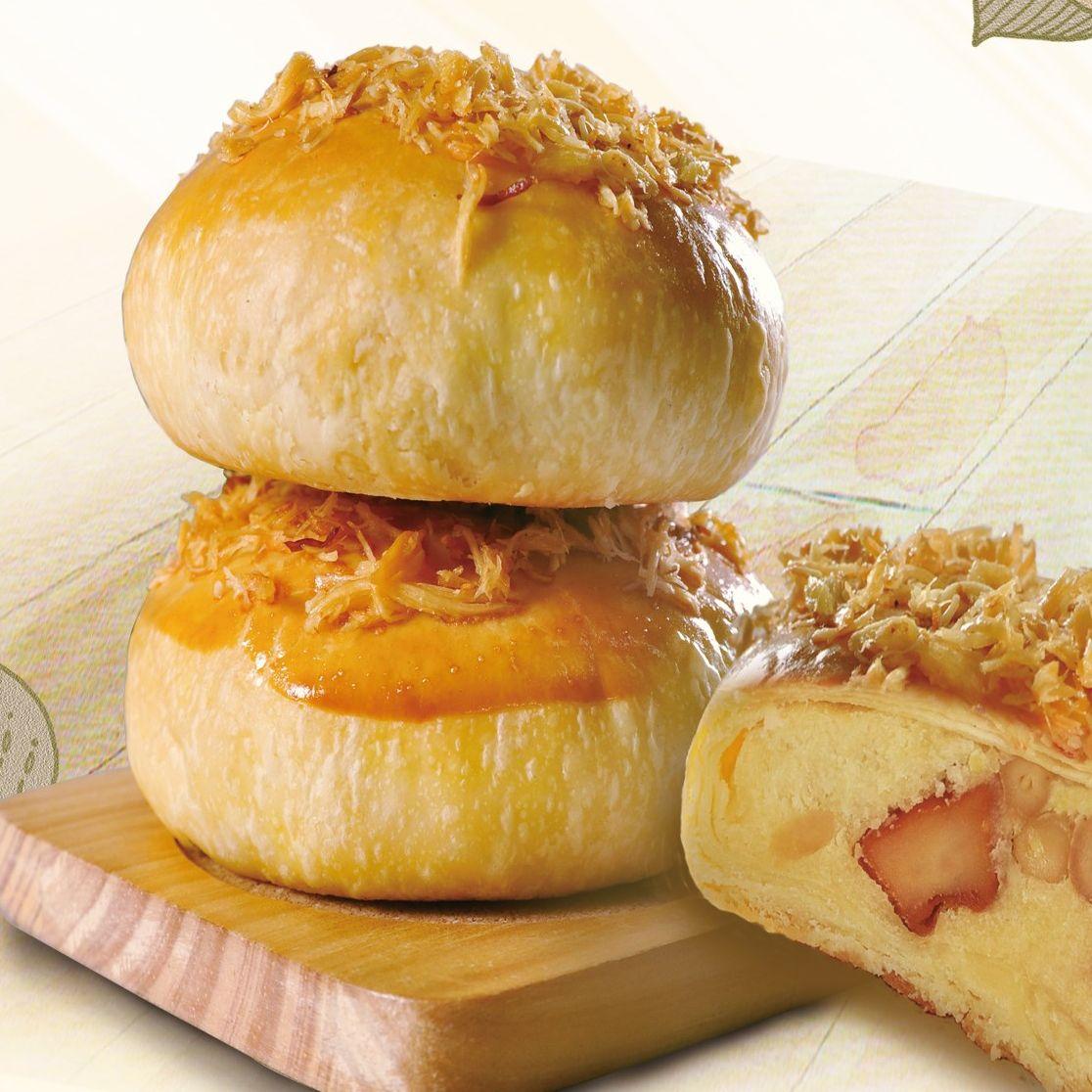 黃金月餅【奶蛋素】9入